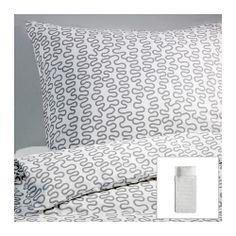 KRÅKRIS Housse de couette et taie - 150x200/65x65 cm  - IKEA