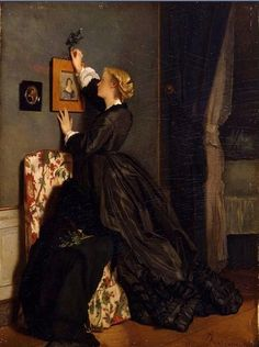 Blog of an Art Admirer: Alfred Stevens (1823-1906) Famous Belgian Painter