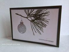 Stampin'UP!  Eins für alles, Klassische Weihnacht, Weihnachten, Embossing silber
