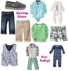 baby boy spring wardrobe {Catch Your Heart}