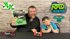 Kouli Kollector and Dad Kollector get down and radical with Really Rad Robots Turbo Bot from Moose Toys and Red Planet Group. Join us as we dance, tell jokes. Moose Toys, Red Planet, Robots, Infinite, Planets, Dancing, Dads, Jokes, Group