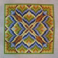 Bargello Basics, Teresa Wentzler, August 2012  This is pretty, would like in different colors!