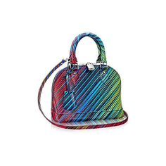 Alma BB Epi Leather (€1.560) ❤ liked on Polyvore featuring bags, handbags, summer bags, purse bag, epi leather handbags, handbag purse and epi leather bag