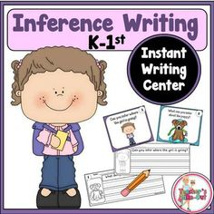 Inference Writing Center from Teachers Take Out on TeachersNotebook.com -  (14 pages)  - Inference Writing Center is intended to do two things: Make Inferences and Write in Complete Sentences.