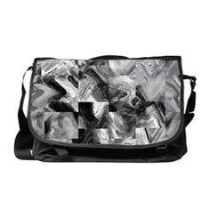 Awesome marble tiles Messenger Bag
