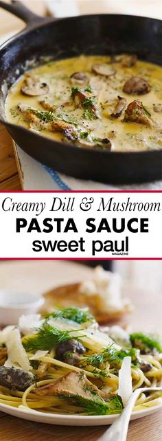 This is the BEST quick meal ever! So rich, creamy, and delish! It's perfect for a weeknight or any time you want a cozy comfort meal!