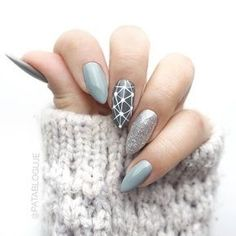 acrylic nails; gel nails; fresh nails; ocean nail art designs; Short/long stiletto nails; glitter stiletto nail art ideas; classy stiletto nail designs; matte nail art designs; winter nails; fall nails.