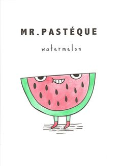 Mr Pasteque By Keeki