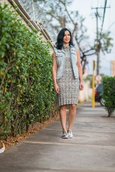 Blog Princesas Modernas: Meu look: Oxford prateado!