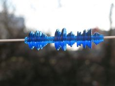 Waveform Necklaces and Bracelets Designed from a Recording of Your Voice
