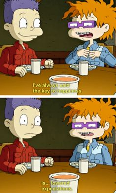 rugrats all grown up chuckie... I liked him too