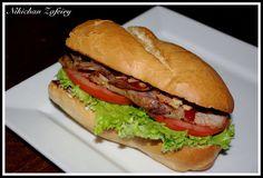 Recetas de una Gatita Enamorada: Bocata de Cerdo asado con salsa Barbacoa