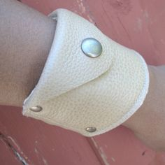 Deluxe Leather Wrist Wallet Cuff with concealed от sewlutionsbyamo