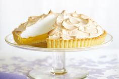 Reduced-Fat Lemon Meringue Pie- We've tweaked your favourite cafe cake for minimum guilt and maximum flavour! Healthy Treats, Healthy Desserts, Type 1, Pie Recipes, Dessert Recipes, Low Fat Desserts, Lemon Meringue Pie, Sweet Pie, Tray Bakes