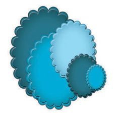 Spellbinders - Classic Scalloped Ovals (S4-111)