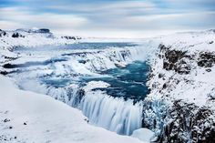 Gulfoss Waterfall - Islandia