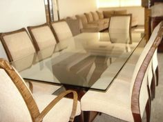 mesa de jantar 8 lugares e retangular 2
