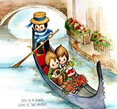 Italy by Betsy Clark
