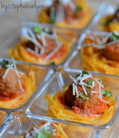 Ideas to Host Your Own Pasta Bar - Buffet Party Menu - bystephanielynn