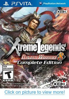 Buy Dynasty Warriors 8 Xtreme Legends Complete Edition (SONY PlayStation Vita) PSV at online store Games For Playstation 4, Ps4 Games, Games Consoles, Wii U, Instant Gaming, Videogames, Ps Vita Games, Jeux Xbox One, Latest Video Games