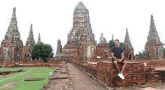 Tempelruine Wat Chai Wattanaram. Thailand, Ayutthaya- Travelhype