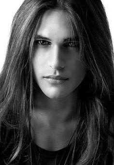 Men Thick Long Hair