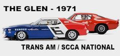 WATKINS GLEN 1971 / SCALEXTRIC  Scalextric proposes two new models of the same race this week, the Watkins Glen Grand Prix scoring for the Trans Am and the National SCCA of 1971. Swede Savage's Chevrolet Camaro and Team Penske AMC Javelin of Mark Donohue, winner of the race ahead of George Follmer's Ford Mustang.  Thes...  http://www.slotcar-today.com/en/notices/2017/03/watkins-glen-1971-scalextric-6191.php    #driver
