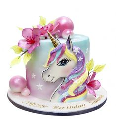 Goat Cheese Cake with Hazelnut, Easy and Cheap - Clean Eating Snacks Pretty Cakes, Beautiful Cakes, Amazing Cakes, Birthday Cake Girls, Unicorn Birthday Parties, Bolo My Little Pony, Bolo Do Mickey Mouse, Cakes In Dubai, Bakery Cakes