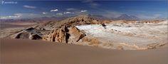 Valle de la Luna, okolí San Pedro de Atacama, Chile