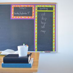 """This fun DIY idea from Scotch Brand is worth a try: """"Chalkboard structured"""" #ScotchStyle"""