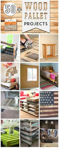 50+ Wood Pallet Projects