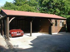 A Phoenix Garage Crondall by Phoenix Timber Buildings, via Flickr