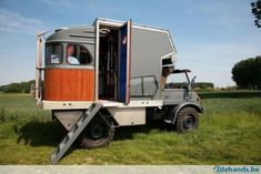 Like the rounded rear end  ____________________________  Unimog 416 camper