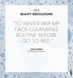 Our #2013 Resolutions. What are yours? #Sephora #NewYears Read more on The Glossy>