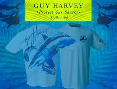 Check out the new Guy Harvey Special Edition Shark Performance Shirts!! Available for 1 Week! www.GuyHarveyArt.com