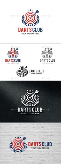 Darts Club Logo