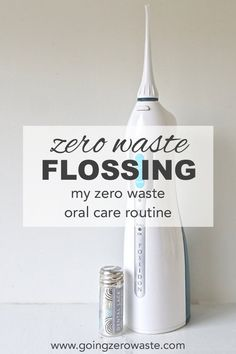Let's talk about flossing. Flossing is important. Gum health is important. Taking care of your teeth and your health is super important! Regular floss is typically plastic. Beyond just being plastic, it's toxic. It's coated with PFC's which is a chemical that's found in teflon. The PFC's