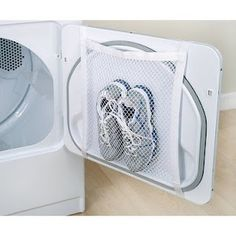 no more tennis shoe in the dryer sounds