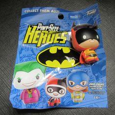 Funko Orange Batman Pint Size Heroes Walmart Exclusive Mystery Box 2016