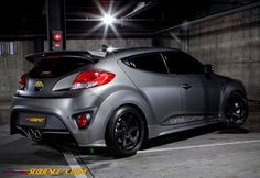 Sequence Rear Wing Spoiler for HYUNDAI VELOSTER TURBO (Only) 2011 2012 2013