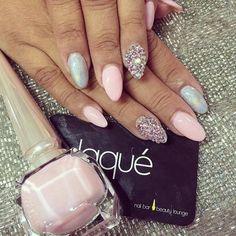#nails #pink #nailart