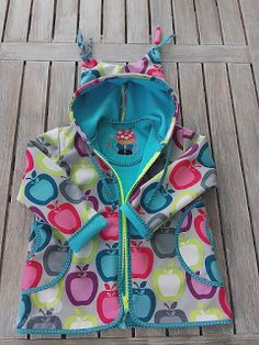 Softshell Jacke, Kinderkleidung nähen