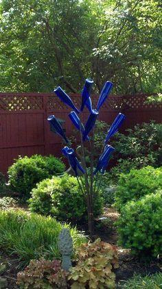 5 ft. WindBlown Bottle Tree by Bottle Tree Creations--SALE!