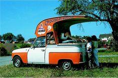 Renault 4 ice cream van