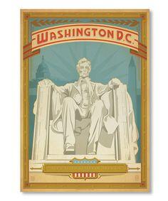 'Washington D.C.' Wall Art by Anderson Design Group #zulily #zulilyfinds