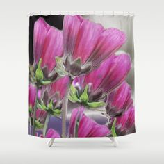 Buy Purple flowers (4) Shower Curtain by maryberg. Worldwide shipping available at Society6.com. Just one of millions of high quality products available.