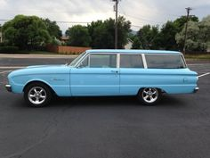 1961 Ford Falcon 2 Door Wagon for sale: photos, technical specifications, description