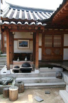 Hanok   by Paul Matthews in Korea