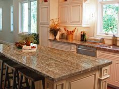 WOoooop, wooooop! Love it! How to Paint Laminate Kitchen Countertops : Home Improvement : DIY Network