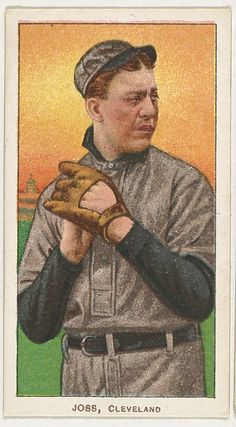 Joss, Cleveland, from the White Border series (T206) for the American Tobacco Company